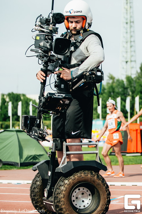 Unit used on a steadycam